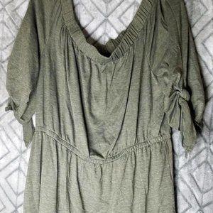 Army Green Knit Dress